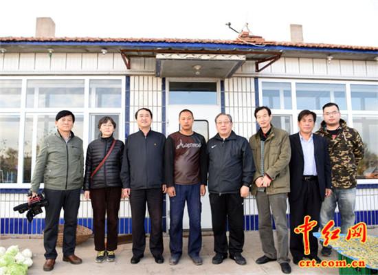 望奎县举行纪念林枫同志诞辰110周年系列活动